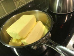 グラスフェッドバターでギー作り